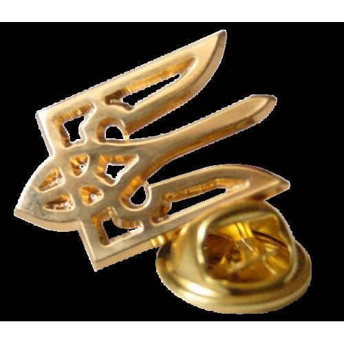 Значек Тризуб (трезубец) Герб Украины
