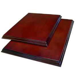 wooden base for the diplomas (A5)