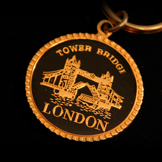 LONDON-metal keychain, custom work