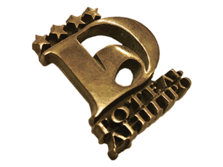 Металлический логотип на заказ