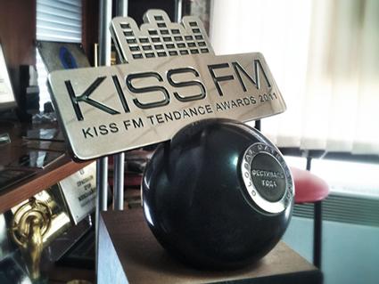 Приз, награда для  Kiss FM