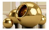 гальваническое покрытие сфер, металлических шариков