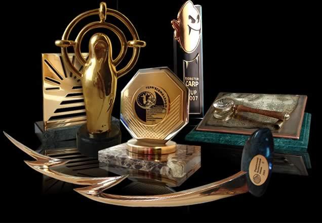Изготовление призов и сувенирной продукции из металла